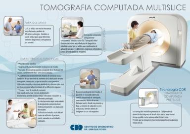 tomografía computada.