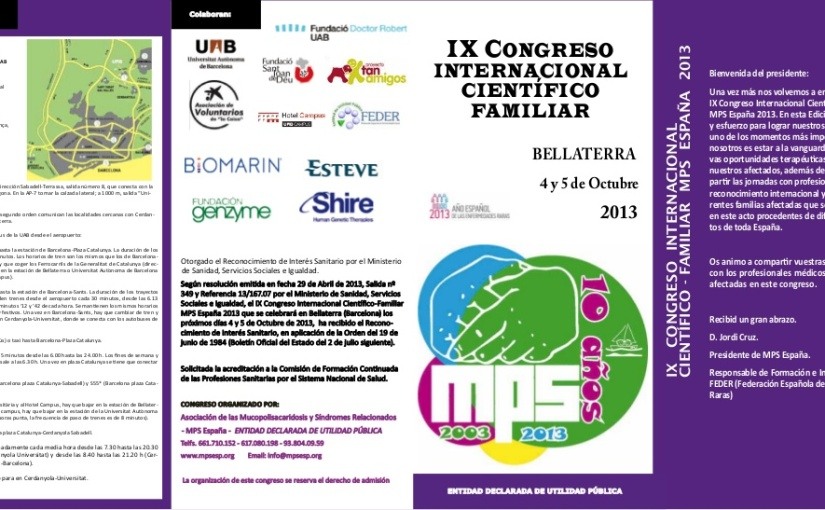 Programa preliminar IX congreso mps2013